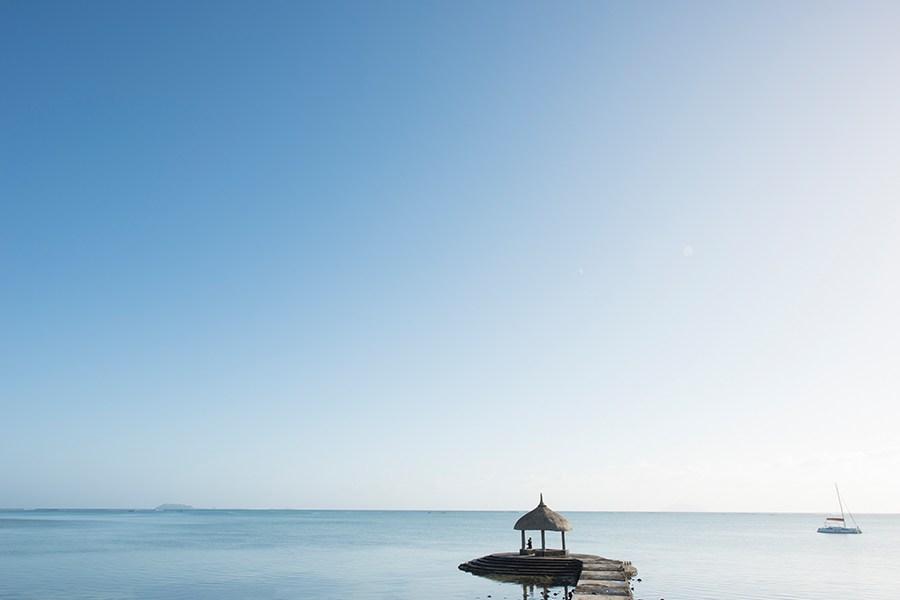 Grand Gaube jetty