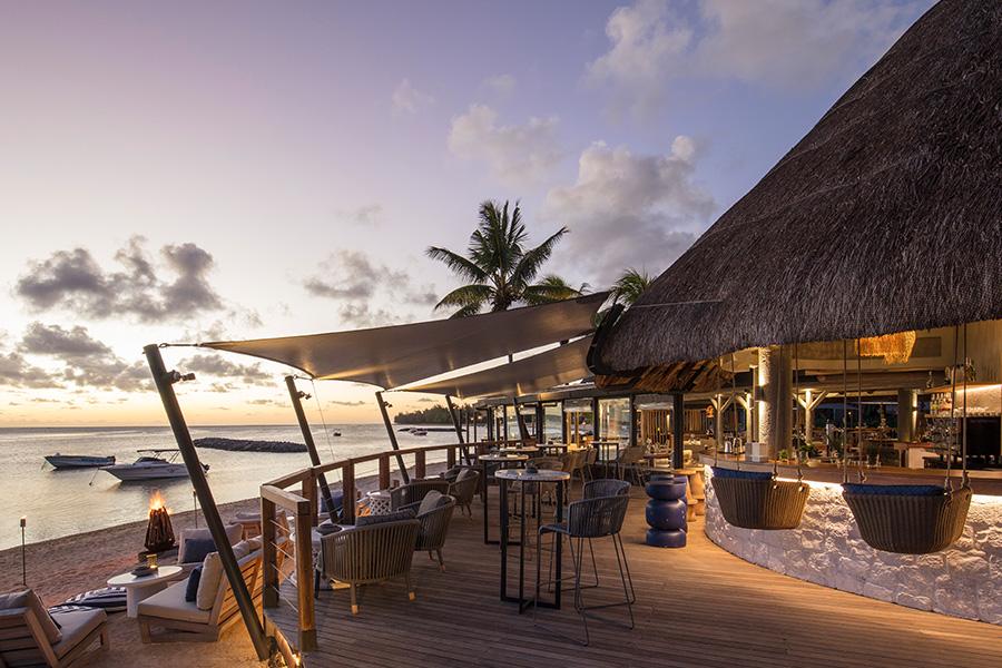 Infinity Blue Beach restaurant and bar